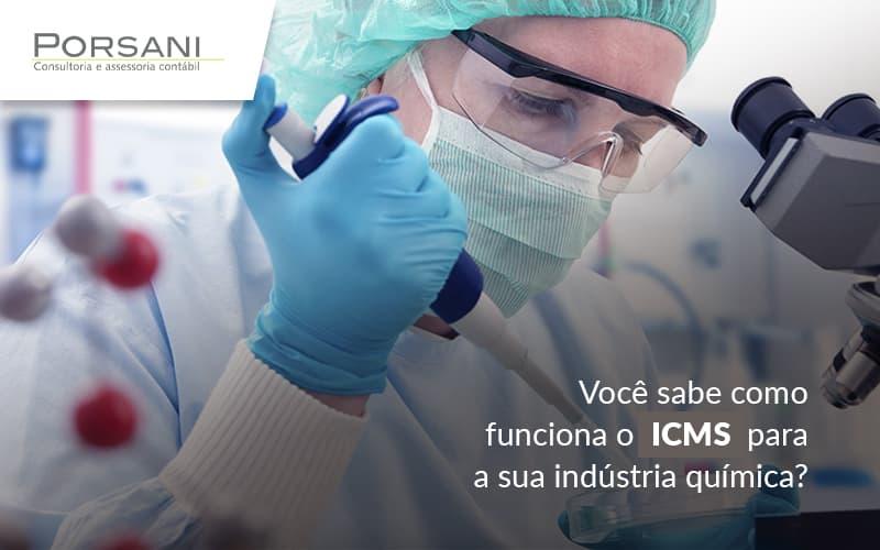 ICMS E Suas Particularidades: Sua Incidência Do Na Indústria Química