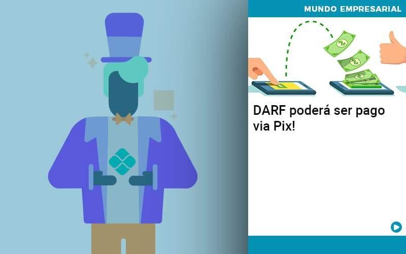 DARF Poderá Ser Pago Via Pix!
